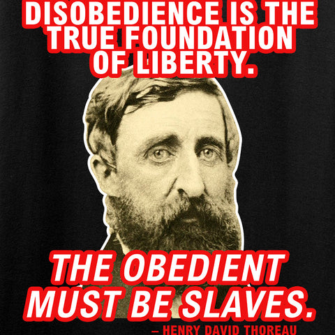 9mmsmg Obedient Equals Slavery T-Shirt T-Shirts [variant_title] by Ballistic Ink - Made in America USA