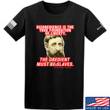 9mmsmg Obedient Equals Slavery T-Shirt T-Shirts Small / Black by Ballistic Ink - Made in America USA