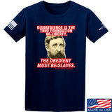 9mmsmg Obedient Equals Slavery T-Shirt T-Shirts Small / Navy by Ballistic Ink - Made in America USA