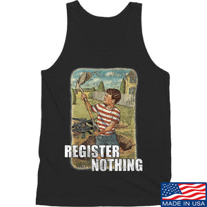 9mmsmg Register Nothing Tank Tanks SMALL / Black by Ballistic Ink - Made in America USA