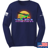 9mmsmg Repeal The NFA Long Sleeve T-Shirt Long Sleeve Small / Navy by Ballistic Ink - Made in America USA