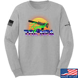 9mmsmg Repeal The NFA Long Sleeve T-Shirt Long Sleeve Small / Light Grey by Ballistic Ink - Made in America USA