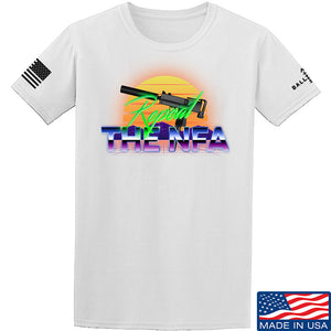 9mmsmg Repeal The NFA T-Shirt T-Shirts Small / Black by Ballistic Ink - Made in America USA