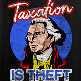 9mmsmg Taxation is Theft T-Shirt T-Shirts [variant_title] by Ballistic Ink - Made in America USA