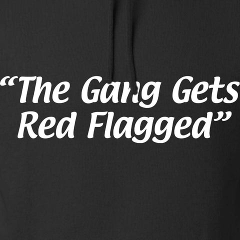 The Gang Gets Red Flagged Hoodie