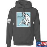 9mmsmg They Can't Arrest Us All Hoodie Hoodies Small / Charcoal by Ballistic Ink - Made in America USA