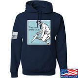 9mmsmg They Can't Arrest Us All Hoodie Hoodies Small / Navy by Ballistic Ink - Made in America USA