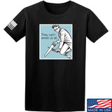 9mmsmg They Can't Arrest Us All T-Shirt T-Shirts Small / Black by Ballistic Ink - Made in America USA