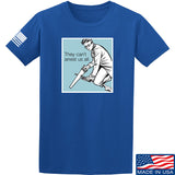 9mmsmg They Can't Arrest Us All T-Shirt T-Shirts Small / Blue by Ballistic Ink - Made in America USA