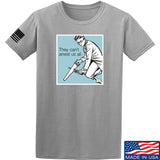9mmsmg They Can't Arrest Us All T-Shirt T-Shirts Small / Light Grey by Ballistic Ink - Made in America USA