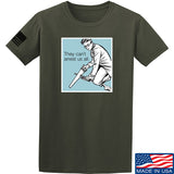 9mmsmg They Can't Arrest Us All T-Shirt T-Shirts Small / Military Green by Ballistic Ink - Made in America USA