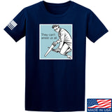 9mmsmg They Can't Arrest Us All T-Shirt T-Shirts Small / Navy by Ballistic Ink - Made in America USA