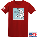 9mmsmg They Can't Arrest Us All T-Shirt T-Shirts Small / Red by Ballistic Ink - Made in America USA