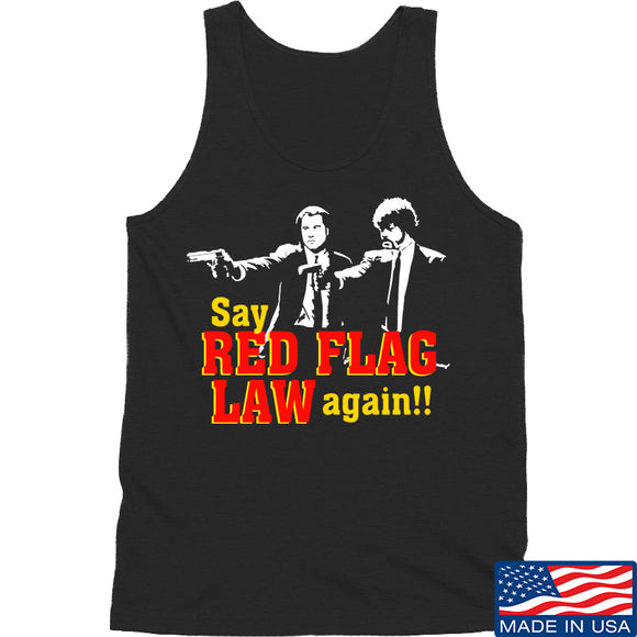 American Gun Chic Say Red Flag Laws Again Tank Tanks SMALL / Black by Ballistic Ink - Made in America USA