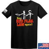 American Gun Chic Say Red Flag Laws Again T-Shirt T-Shirts Small / Black by Ballistic Ink - Made in America USA