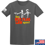 American Gun Chic Say Red Flag Laws Again T-Shirt T-Shirts Small / Charcoal by Ballistic Ink - Made in America USA