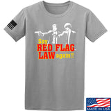 American Gun Chic Say Red Flag Laws Again T-Shirt T-Shirts Small / Light Grey by Ballistic Ink - Made in America USA