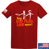 American Gun Chic Say Red Flag Laws Again T-Shirt T-Shirts Small / Red by Ballistic Ink - Made in America USA