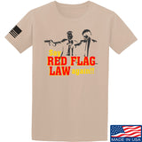 American Gun Chic Say Red Flag Laws Again T-Shirt T-Shirts Small / Sand by Ballistic Ink - Made in America USA