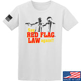 American Gun Chic Say Red Flag Laws Again T-Shirt T-Shirts Small / White by Ballistic Ink - Made in America USA