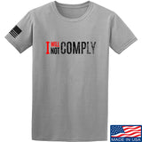 AP2020 Outdoors I Will Not Comply T-Shirt T-Shirts Small / Light Grey by Ballistic Ink - Made in America USA