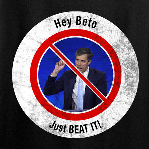 AP2020 Outdoors NO TO Beto O'Rourke Long Sleeve T-Shirt Long Sleeve [variant_title] by Ballistic Ink - Made in America USA