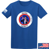 AP2020 Outdoors NO TO Beto O'Rourke T-Shirt T-Shirts Small / Blue by Ballistic Ink - Made in America USA