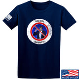 AP2020 Outdoors NO TO Beto O'Rourke T-Shirt T-Shirts Small / Navy by Ballistic Ink - Made in America USA