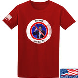 AP2020 Outdoors NO TO Beto O'Rourke T-Shirt T-Shirts Small / Red by Ballistic Ink - Made in America USA