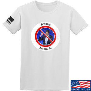 AP2020 Outdoors NO TO Beto O'Rourke T-Shirt T-Shirts Small / Black by Ballistic Ink - Made in America USA