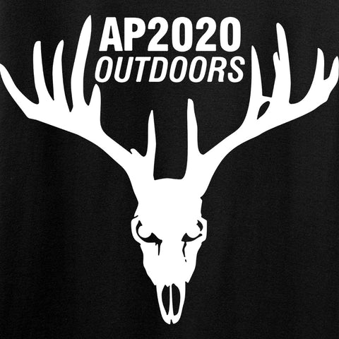 AP2020 Outdoors AP2020 Outdoors Chest Logo Hoodie Hoodies [variant_title] by Ballistic Ink - Made in America USA
