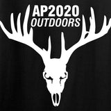AP2020 Outdoors Ladies AP2020 Outdoors Chest Logo T-Shirt T-Shirts [variant_title] by Ballistic Ink - Made in America USA
