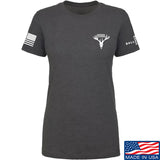 AP2020 Outdoors Ladies AP2020 Outdoors Chest Logo T-Shirt T-Shirts SMALL / Charcoal by Ballistic Ink - Made in America USA