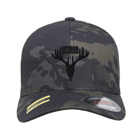AP2020 Outdoors AP2020 Outdoors Logo Flexfit® Multicam® Trucker Mesh Cap Headwear [variant_title] by Ballistic Ink - Made in America USA
