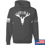 AP2020 Outdoors AP2020 Outdoors Full Logo Hoodie Hoodies Small / Charcoal by Ballistic Ink - Made in America USA