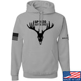 AP2020 Outdoors AP2020 Outdoors Full Logo Hoodie Hoodies Small / Light Grey by Ballistic Ink - Made in America USA