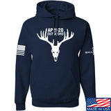 AP2020 Outdoors AP2020 Outdoors Full Logo Hoodie Hoodies Small / Navy by Ballistic Ink - Made in America USA