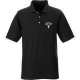 AP2020 Outdoors AP2020 Outdoors Logo Polo Polos Small / Black by Ballistic Ink - Made in America USA