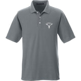 AP2020 Outdoors AP2020 Outdoors Logo Polo Polos Small / Graphite by Ballistic Ink - Made in America USA