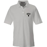 AP2020 Outdoors AP2020 Outdoors Logo Polo Polos Small / Silver by Ballistic Ink - Made in America USA