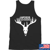 AP2020 Outdoors AP2020 Outdoors Full Logo Tank Tanks SMALL / Black by Ballistic Ink - Made in America USA
