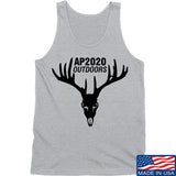 AP2020 Outdoors AP2020 Outdoors Full Logo Tank Tanks SMALL / Light Grey by Ballistic Ink - Made in America USA