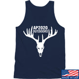 AP2020 Outdoors AP2020 Outdoors Full Logo Tank Tanks SMALL / Navy by Ballistic Ink - Made in America USA