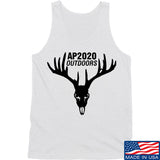 AP2020 Outdoors AP2020 Outdoors Full Logo Tank Tanks SMALL / White by Ballistic Ink - Made in America USA