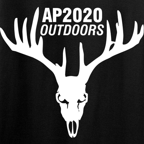 AP2020 Outdoors AP2020 Outdoors Full Logo Long Sleeve T-Shirt Long Sleeve [variant_title] by Ballistic Ink - Made in America USA