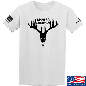AP2020 Outdoors AP2020 Outdoors Full Logo T-Shirt T-Shirts Small / Sand by Ballistic Ink - Made in America USA