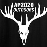 AP2020 Outdoors Ladies AP2020 Outdoors Full Logo V-Neck T-Shirts, V-Neck [variant_title] by Ballistic Ink - Made in America USA