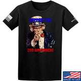 AP2020 Outdoors Uncle Sam 2A T-Shirt T-Shirts Small / Black by Ballistic Ink - Made in America USA