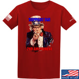 AP2020 Outdoors Uncle Sam 2A T-Shirt T-Shirts Small / Red by Ballistic Ink - Made in America USA