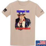 AP2020 Outdoors Uncle Sam 2A T-Shirt T-Shirts Small / Sand by Ballistic Ink - Made in America USA